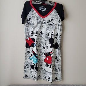 Disney Mickey & Minnie Mouse Gown/Sleepwear